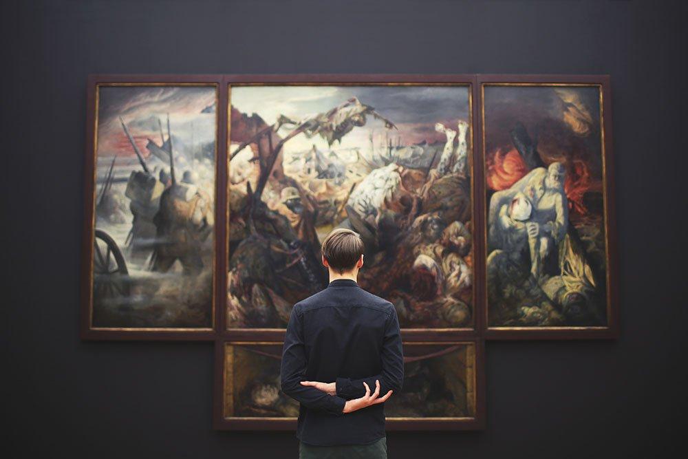 osservare arte