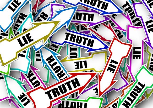 verità bugia obiettivo investigazione